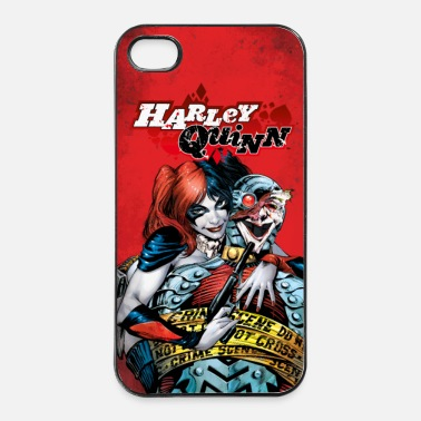 Officialbrands Suicide Squad Harley Quinn and Joker - iPhone 4/4s hard case