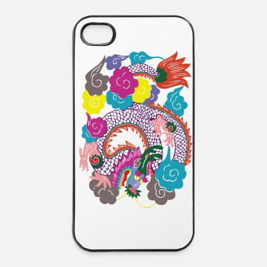 Japon Dragon Japon - Coque rigide iPhone 4/4s