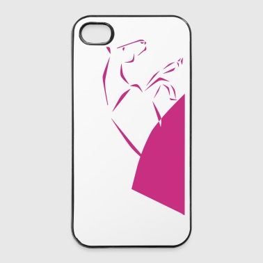 Reining horse - iPhone 4/4s Hard Case