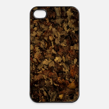 Foglie leaves foglie - Custodia rigida per iPhone 4/4s