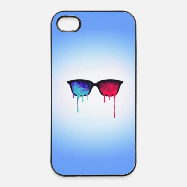 3D Psychedelic / Goa Meditation Glasses (Phone) - iPhone 4/4s Hard Case