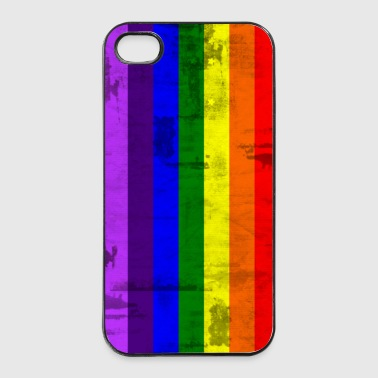 Rainbow flag - iPhone 4/4s hard case