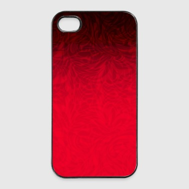 Phone Cover Patttern Red to Black - iPhone 4/4s Hard Case