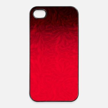 Collections Phone Cover Patttern Red to Black - iPhone 4 & 4s Hülle