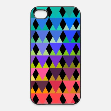 Driehoek Les triangles III - iPhone 4/4s hard case