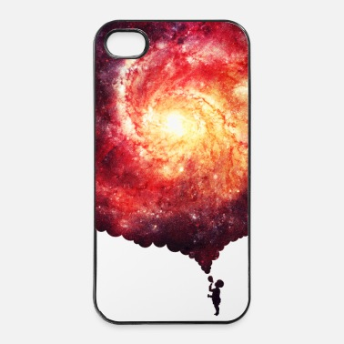 Schilderen The universe in a soap-bubble - Handycase - iPhone 4/4s hard case