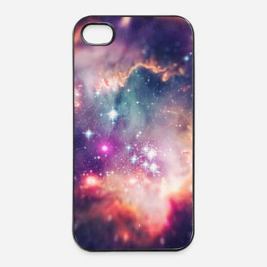 Cover Custodie per iPhone - Space Galaxy Design / macro universe - Handycase - Custodia per iPhone 4 / 4s bianco/nero
