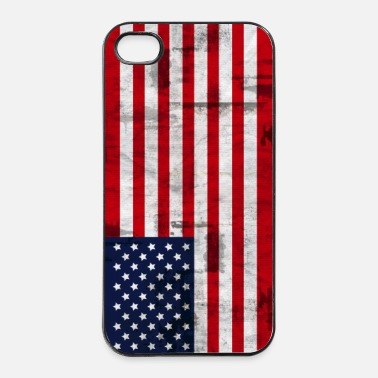 Fahne Amerikanische Flagge - iPhone 4/4s Hard Case