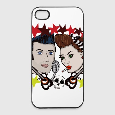 Paare RocknRoll Paar Rockabilly - iPhone 4/4s Hard Case