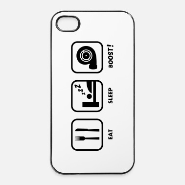 Voiture JDM Eat, Sleep, BOOST!  | T-shirts JDM - Coque rigide iPhone 4/4s