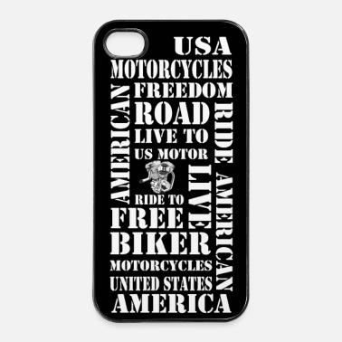 Us coque smartphone us motorcycles - Coque rigide iPhone 4/4s