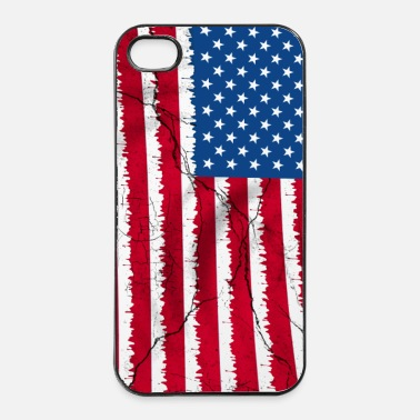 United USA flag - coque smartphone - Coque rigide iPhone 4/4s