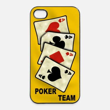 Poker Poker team - coque smartphone - Coque rigide iPhone 4/4s