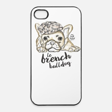 Bulldog French Bulldog - iPhone 4/4s hard case