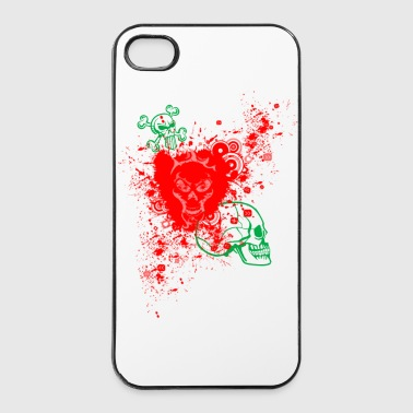 Skull  - Custodia rigida per iPhone 4/4s