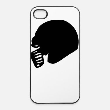 Football Américain american_footballhelm_1_farbig - Coque rigide iPhone 4/4s