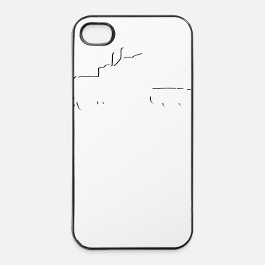 Auto truck_total_stylisch_1_farbig - iPhone 4/4s hard case
