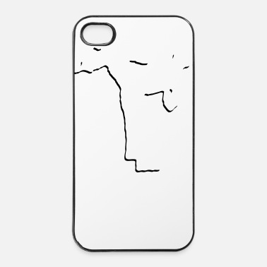Karate fight_stylisch_1_faribg - iPhone 4/4s hard case