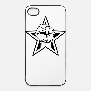 Occupy star fist - iPhone 4/4s hard case