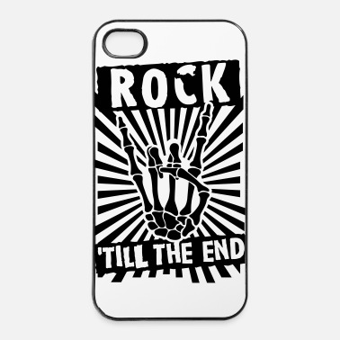 Heavy Metal rock 'till the end - Coque rigide iPhone 4/4s