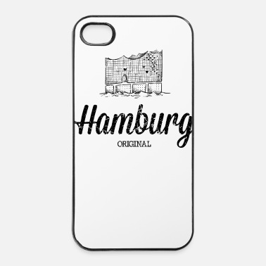 Concert Hambourg original Elbe Philharmonic Hall - Coque rigide iPhone 4/4s