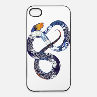 Reptile un serpent de corail bleu - Coque rigide iPhone 4/4s