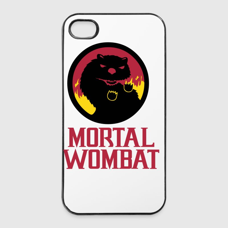 Mortal Wombat - iPhone 4/4s Hard Case