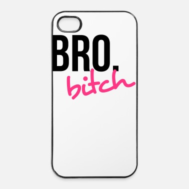 Fratello Bro biatch! 2 - Custodia rigida per iPhone 4/4s