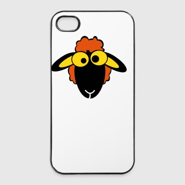 sheep color - iPhone 4/4s Hard Case