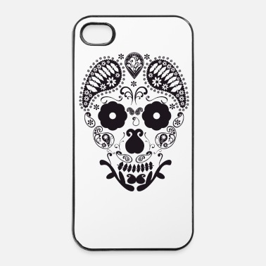 Illustratie Schedel grafisch - iPhone 4/4s hard case