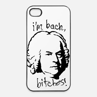 Palabra I'm bach, bitches! - Carcasa iPhone 4/4s