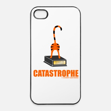 Joke Catastrophe: Rude Cat Joke by Sterry Cartoons - iPhone 4 & 4s Case