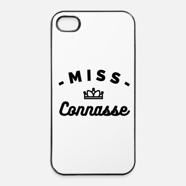 Provocation MISS Connasse-tshirt-design-sympa - Coque rigide iPhone 4/4s