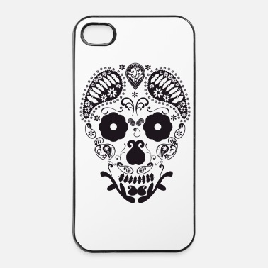 Mode Tete de mort - Coque rigide iPhone 4/4s