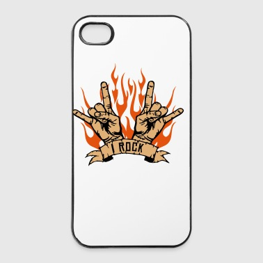 I ROCK - Custodia rigida per iPhone 4/4s