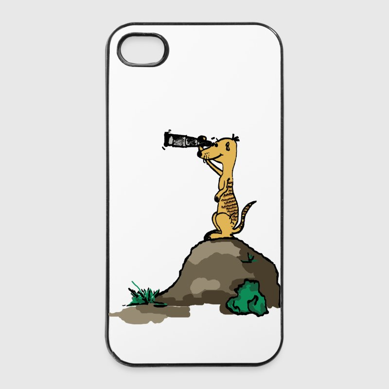 erdmaennchen comic - iPhone 4/4s Hard Case