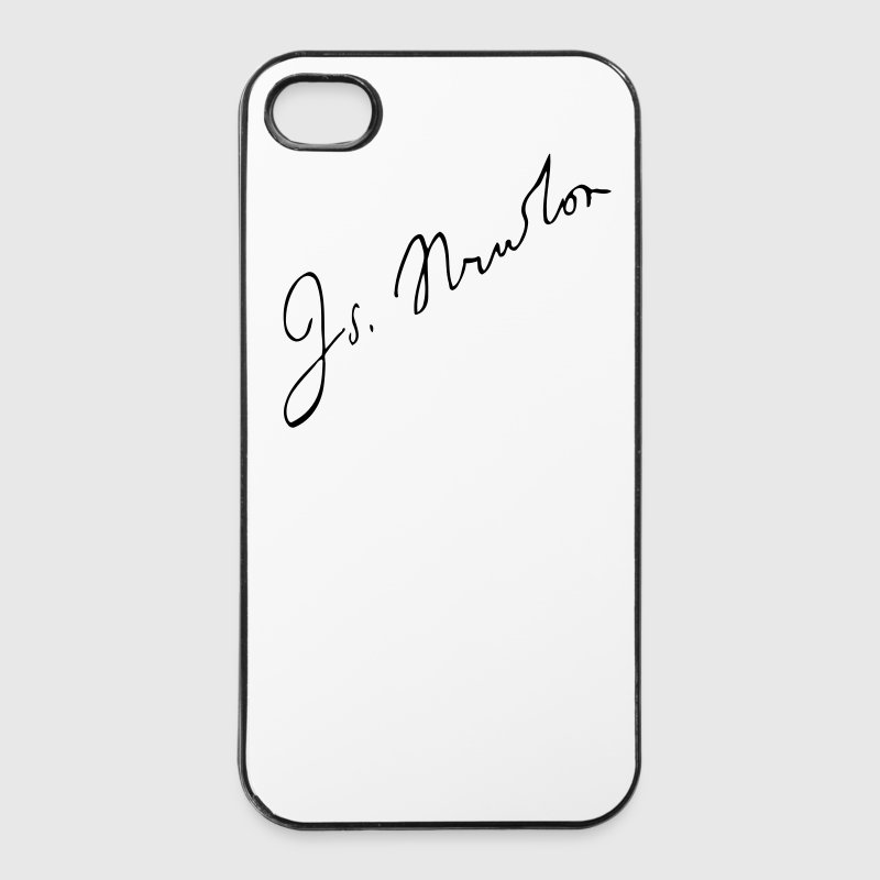 Isaac Newton - Custodia rigida per iPhone 4/4s