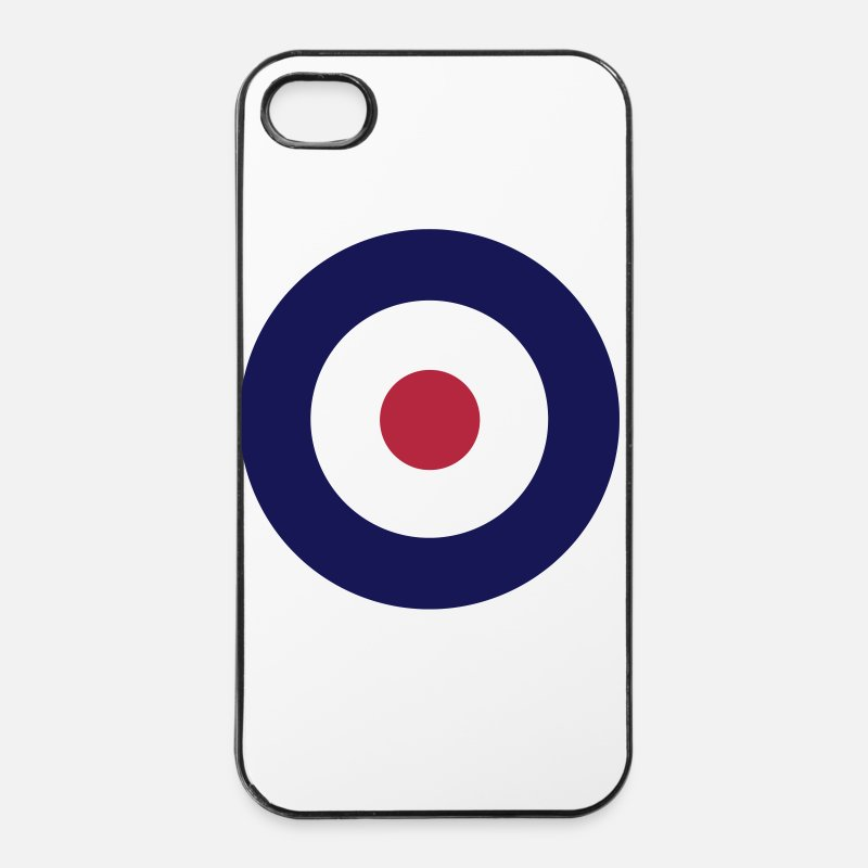 Target iPhone Cases - Mod Sign For White Shirts - iPhone 4 Case white/black