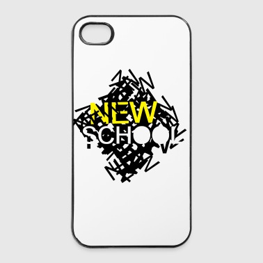 New School - iPhone 4/4s Hard Case