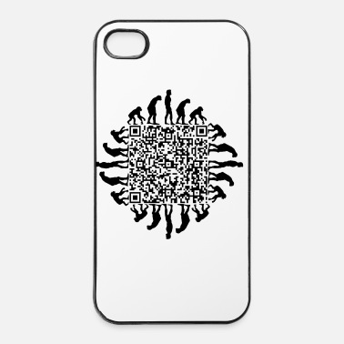 Facile QR_lavage_de_cerveau_fr - Coque rigide iPhone 4/4s