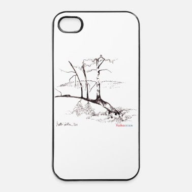 Landscape Curved birch - iPhone 4 & 4s Case