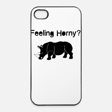 Corno Feeling Horny? 1c - Custodia rigida per iPhone 4/4s