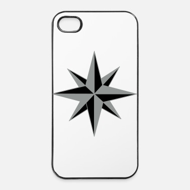 Roos Kompassrose, Compass rose  - iPhone 4/4s hard case