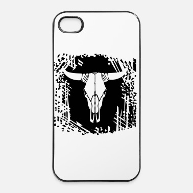 Cow Cow skull - iPhone 4 & 4s Case
