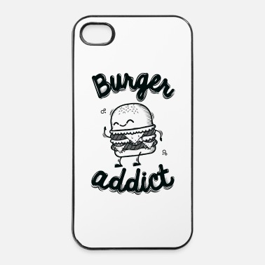 Pique Burger Addict - Coque rigide iPhone 4/4s