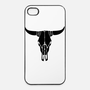 Texas Calavera vaca - Carcasa iPhone 4/4s
