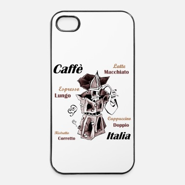 Italie Café Italie - Coque rigide iPhone 4/4s