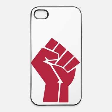 Communisme poing levé - Coque rigide iPhone 4/4s
