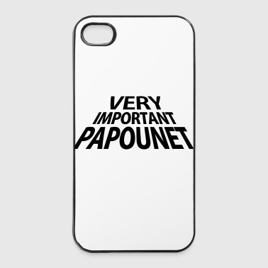 Papa Very Important Papounet Papa (1c) - Coque rigide iPhone 4/4s