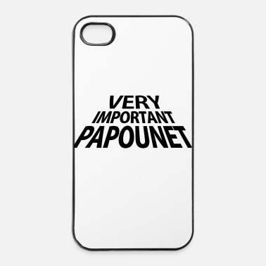 Vip Very Important Papounet Papa (1c) - Coque rigide iPhone 4/4s